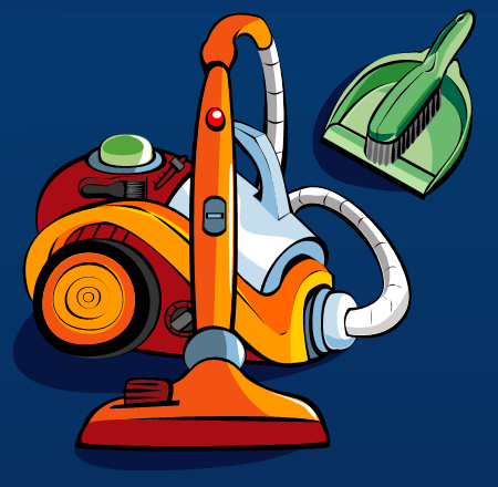 Dale Sullivan - Vector Illustration - Vacuum